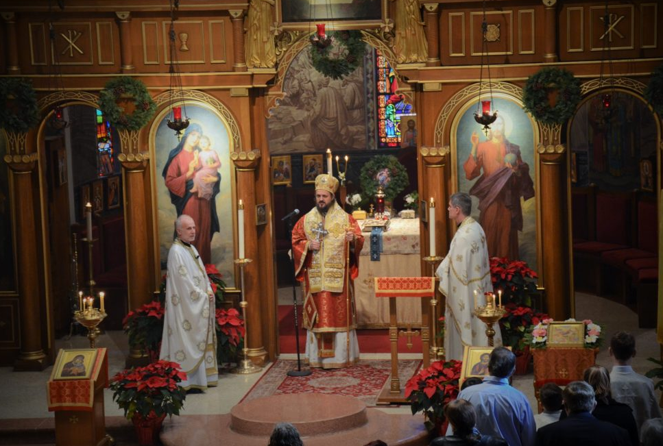 Orthodox Christmas 2020 Serbian California Serbian Church celebrated Nativity of our Lord at Saint Steven's