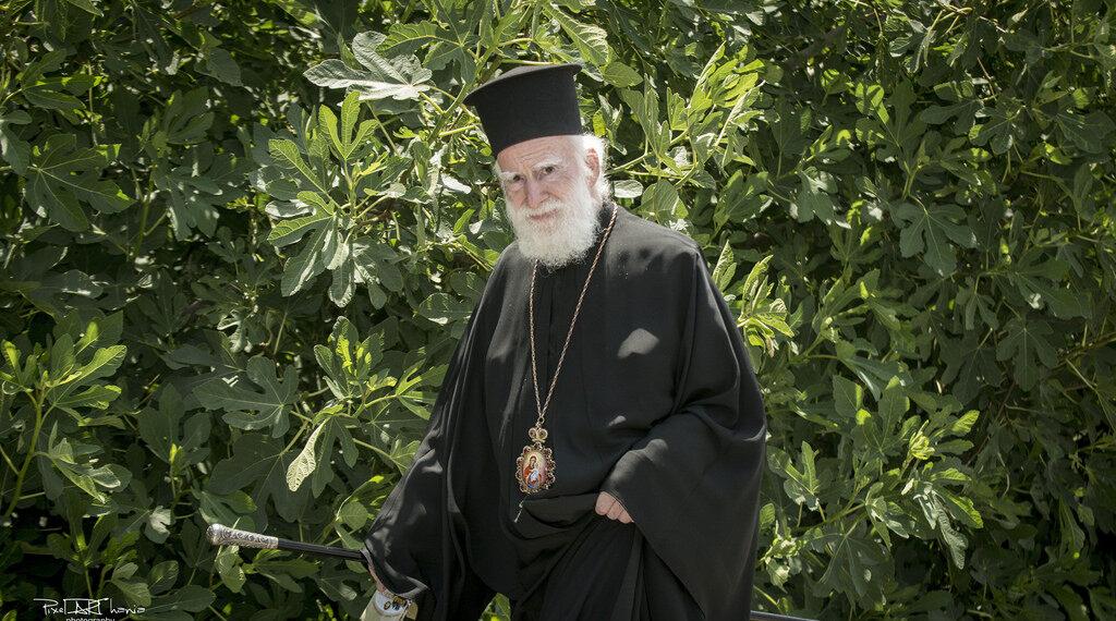 Archbishop of Crete celebrates his 45th archieratical ministry anniversary
