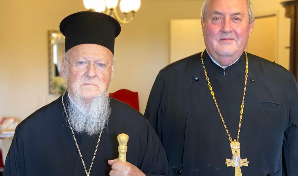 Ecumenical Patriarch met acting Secretary-General of World Council of Churches