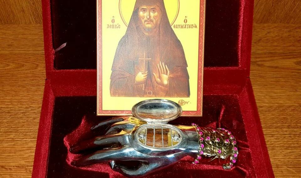 Paltin-Petru Voda Monastery receives fragment of St Nikephoros the Leper's relics