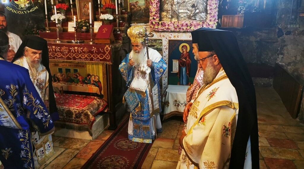 Feast of Dormition of Theotokos at Patriarchate of Jerusalem