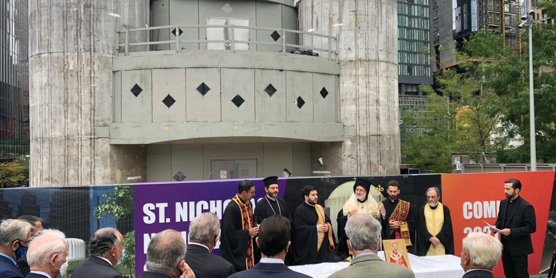 Archbishop Elpidophoros: We are building Saint Nicholas for those who perished on 9/11