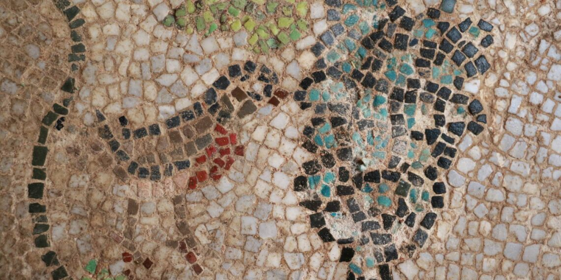 Mosaics of the early Byzantine period were revealed in Sinope Koimesis Church