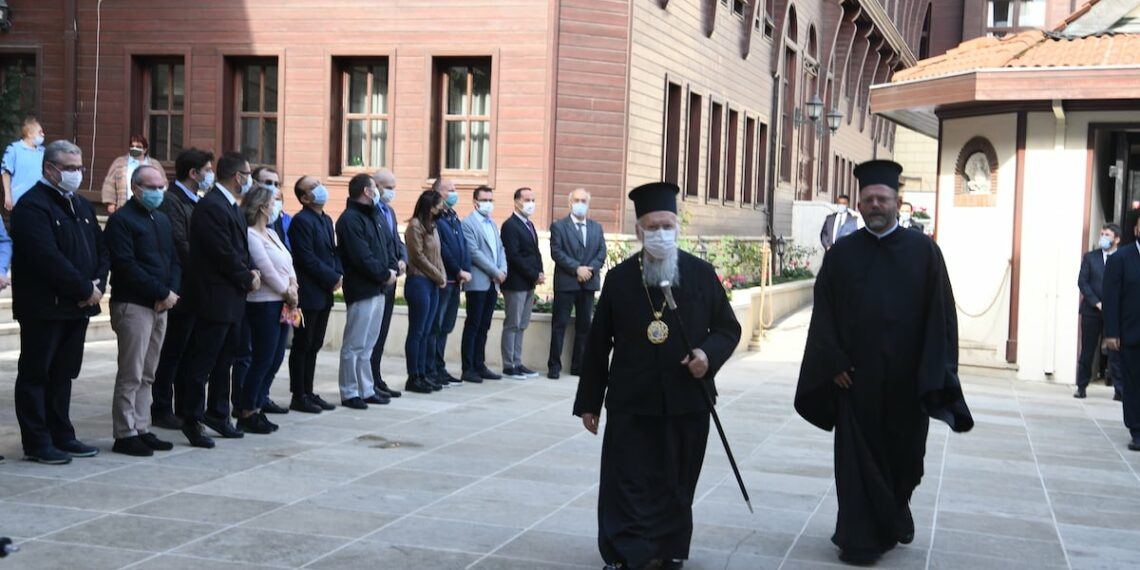 Ecumenical Patriarch Bartholomew departed for Rome