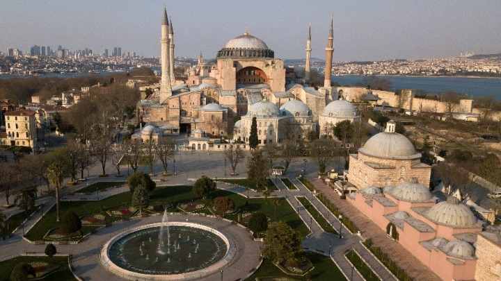 Council of Europe: The magnificent beauty of Hagia Sophia transcends religions