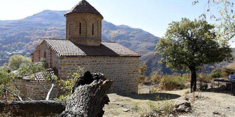 Turks partially restored a Greek monastery in Imera in Pontus region