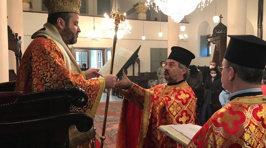 Metropolitan of Sylivria in Church of Panagia of Belgrade