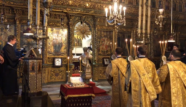 Patriarchal and Synodal Divine Liturgy of Thronal Feast of Ecumenical Patriarchate (video)