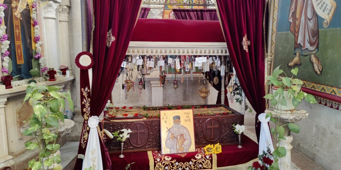 The Feast of the Holy Great Martyr Philoumenos the Hagiotaphite at the Patriarchate of Jerusalem