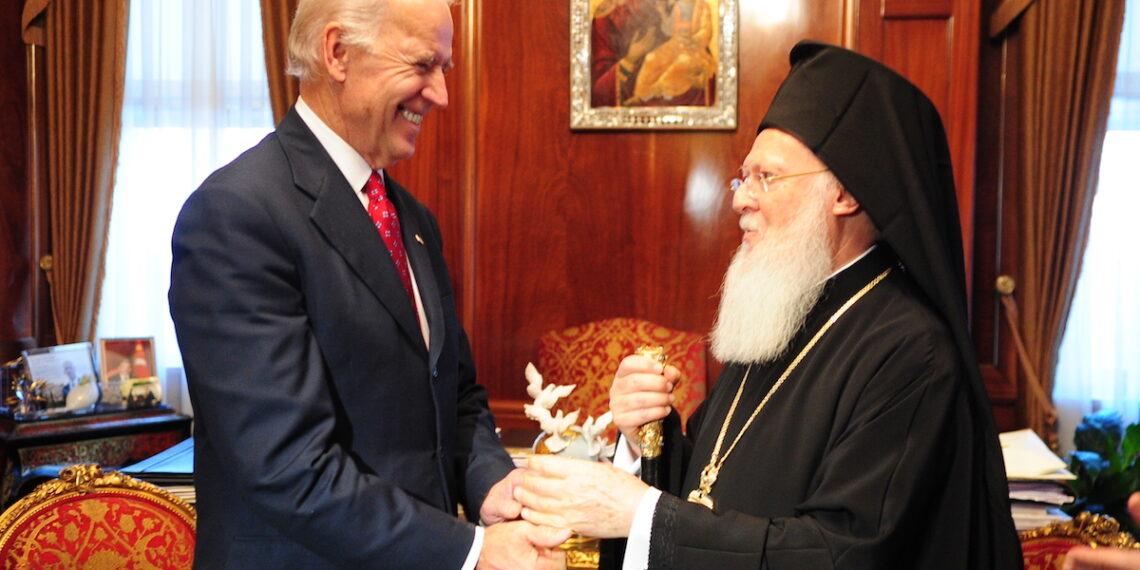 Patriarhul ecumenist despre Biden: cetățenii din întreaga lume liberă îți salută victoria
