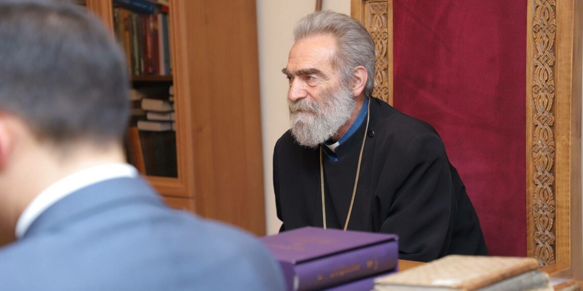 Primate of the Artsakh Diocese of the Armenian Apostolic Church was admitted to hospital