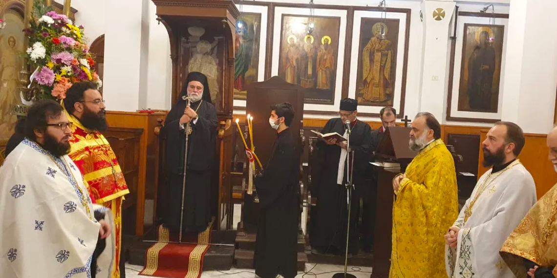 Feast of Saints Cosmas and Damianos was celebrated in Shubra