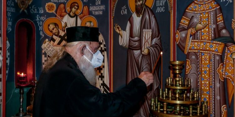 Archbishop of Athens was discharged from hospital (Upd)