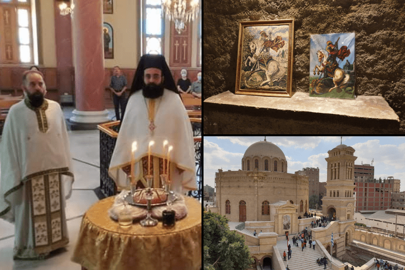 Holy Temple of St. George in Old Cairo: The translation of the Holy Relics of St. George the Trophy Bearer
