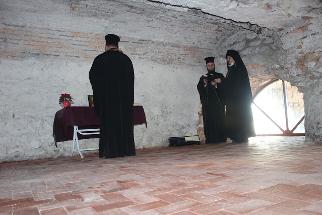 Prayer in the prison of St. Barbara in Nicomedia – Orthodox Times