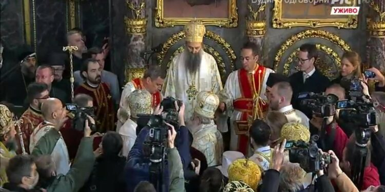 Message of unity from Patriarch of Serbia: The mission of the Church is to build peace (VIDEO)