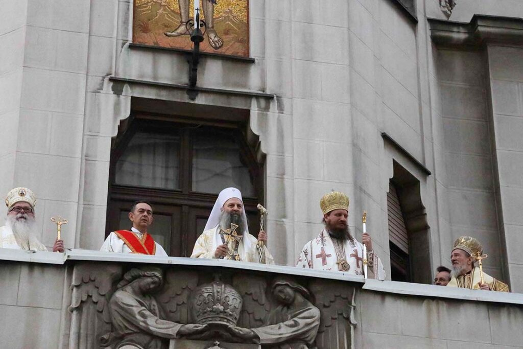 patriarch of serbia enthronement