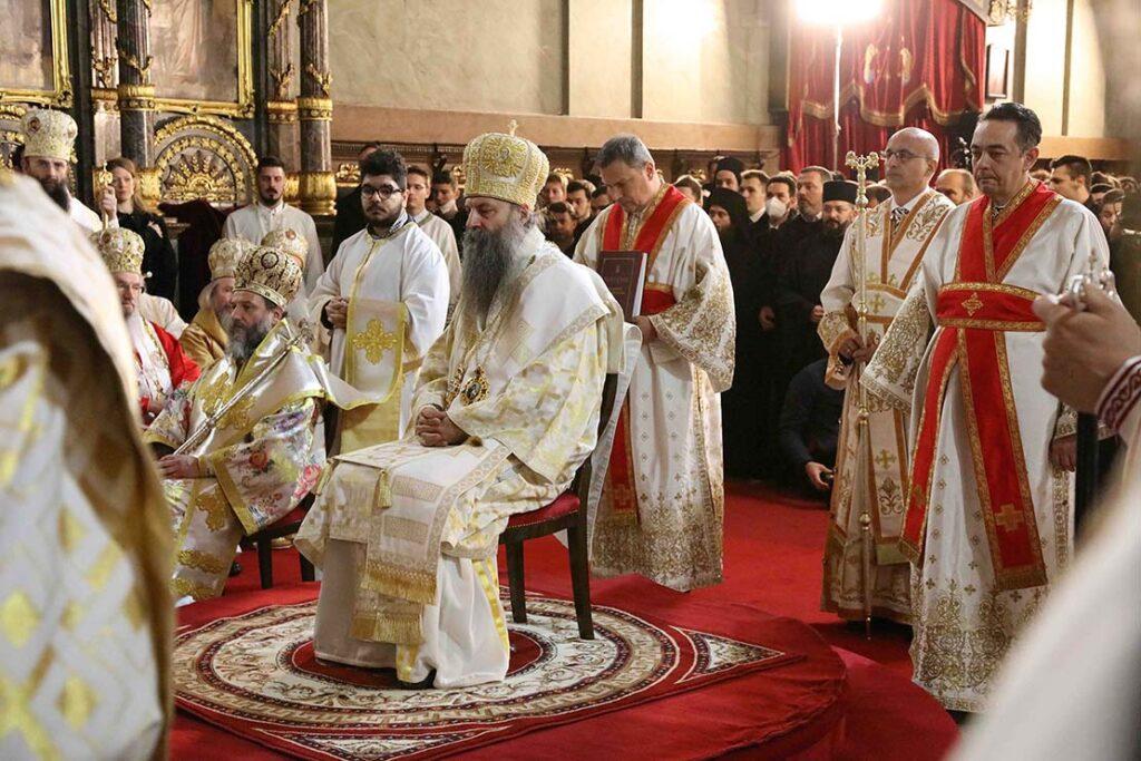 patriarch of serbia Porfirije