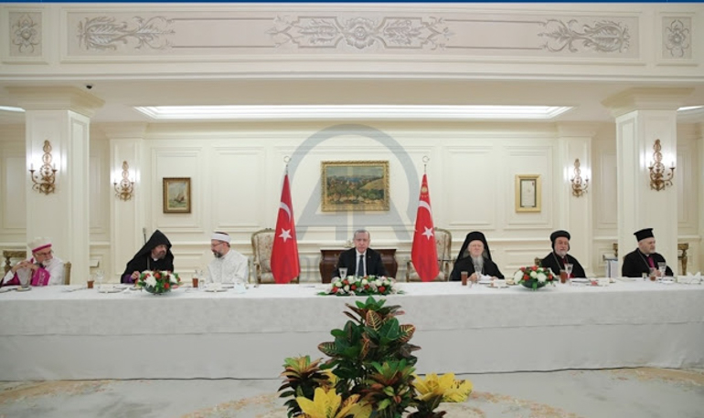 Erdoğan tells Patriarch Bartholomew that Greeks should return to Turkey 1