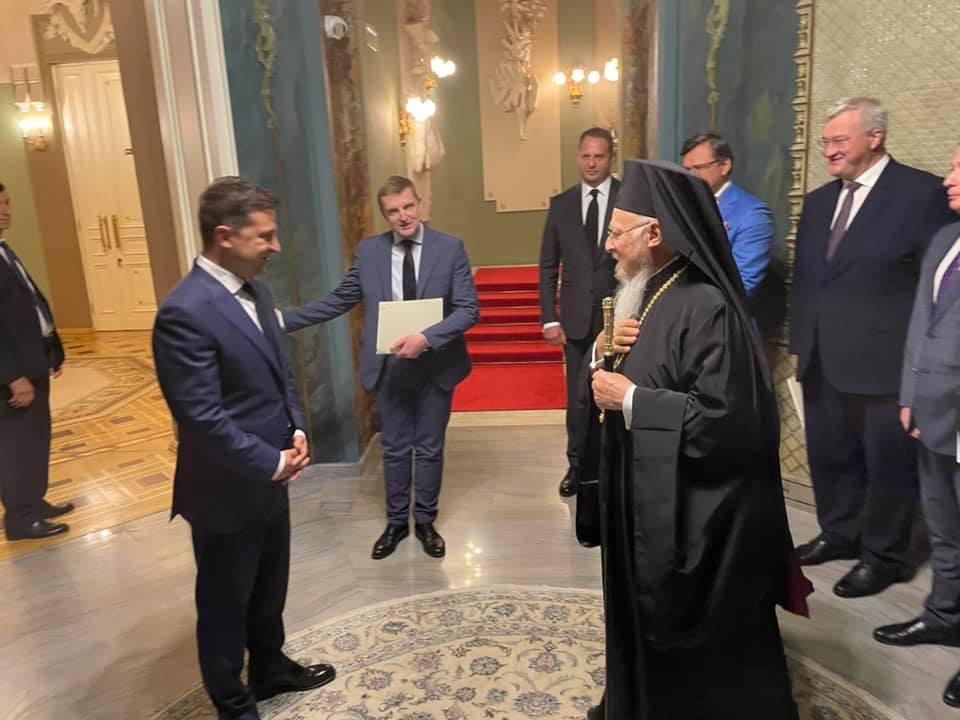 ecumenical patriarch kyiv zelensky
