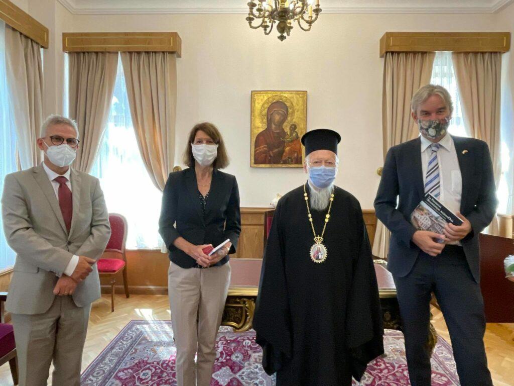 ambassador of Netherlands ecumenical patriarch