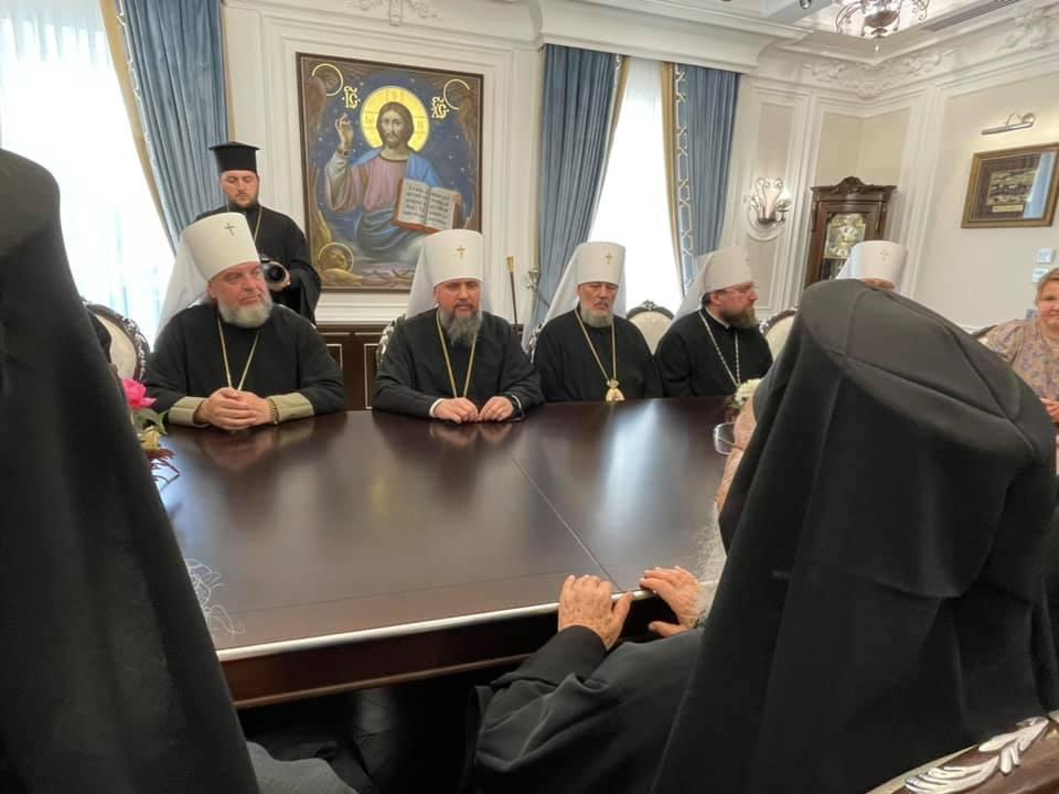 ecumenical patriarch epiphaniy kyiv