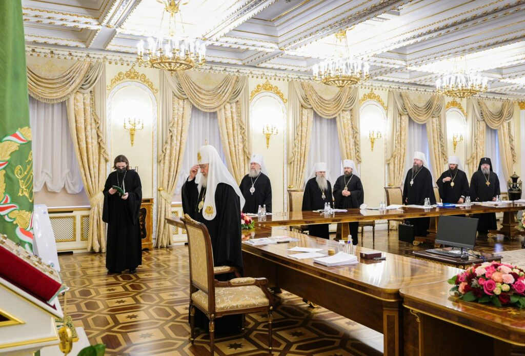 patriarchate of moscow russia synod